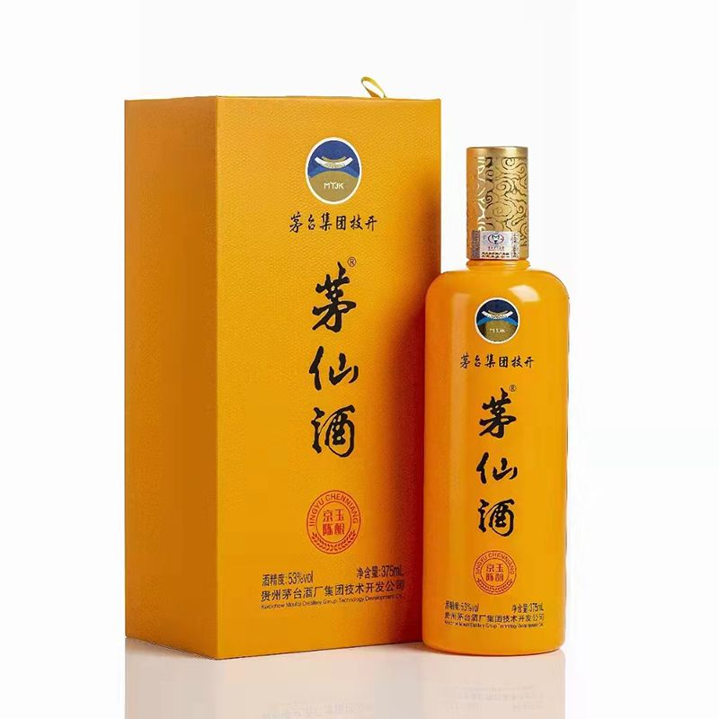 贵州茅台 茅仙酒 京玉陈酿 柔和酱香型53度 500ml/瓶