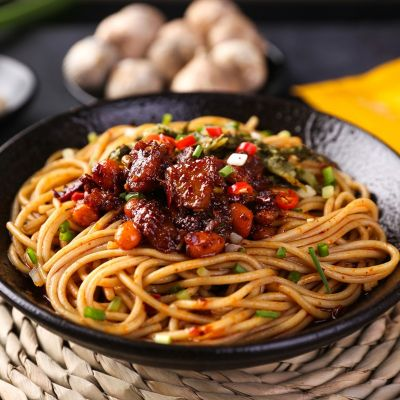 贵州 六盘水 辣子鸡干拌面 200g*3包