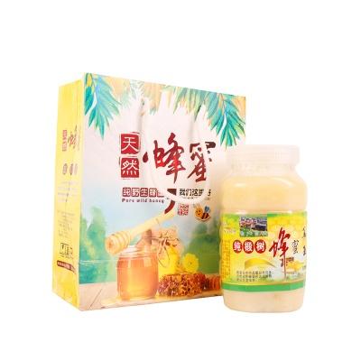 黑龙江哈尔滨 椴树蜂蜜原蜜 500g/罐*2