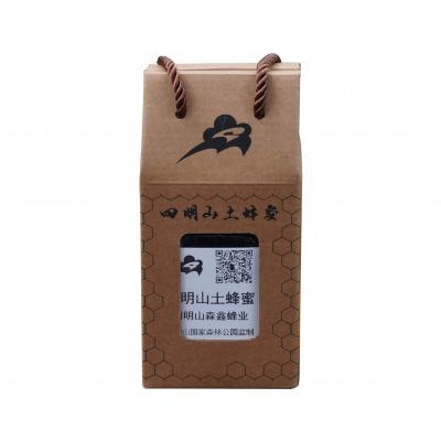 浙江 四明山土蜂蜜 三个月蜜酿期 500g/瓶纸盒装