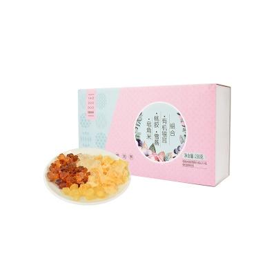 上海 姚朵朵 有机银耳桃胶雪燕皂角米组合