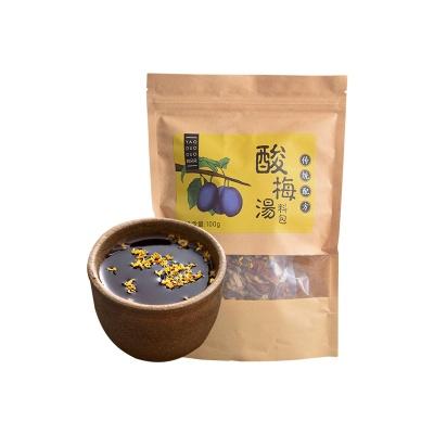 上海 姚朵朵 酸梅汤 100g/袋