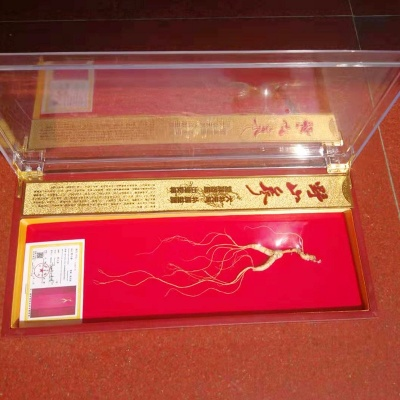 诗美乐 长白山林下山参礼盒 45型18年以上