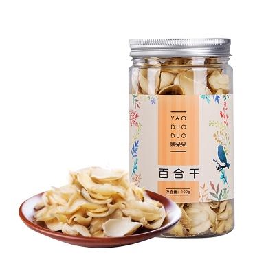 上海 姚朵朵 百合干 100g/罐
