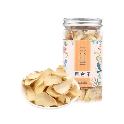 上海 姚朵朵 百合干 130g/罐