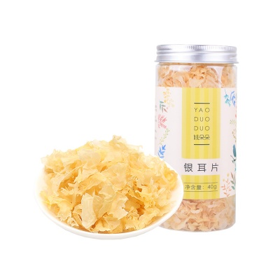 上海 姚朵朵 银耳片 40g/罐