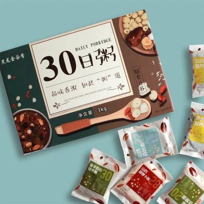 黑龙江哈尔滨 黑龙金谷香30日粥 3kg/盒